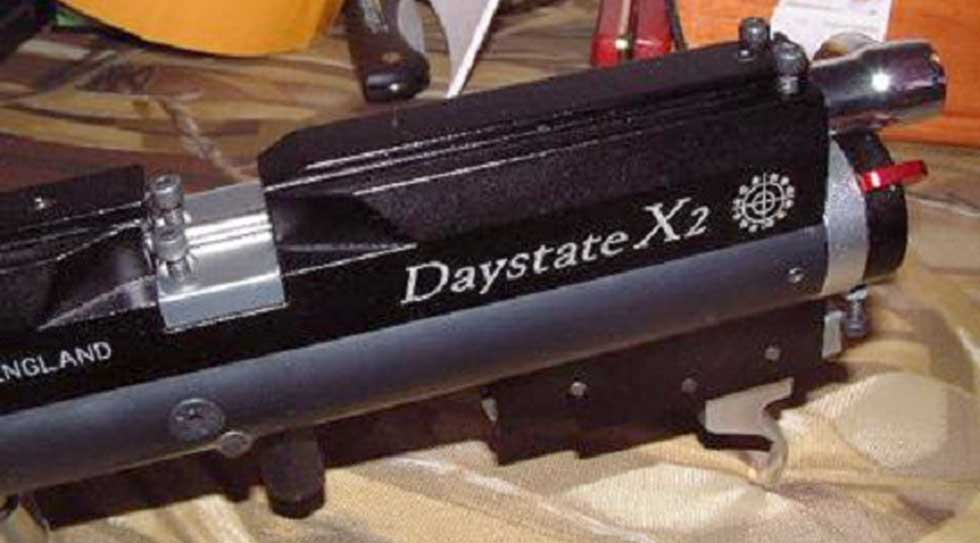 Desmontar Daystate Harrier X/X2